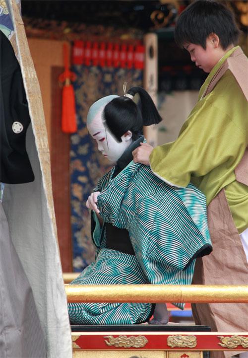 皆で作る子供歌舞伎