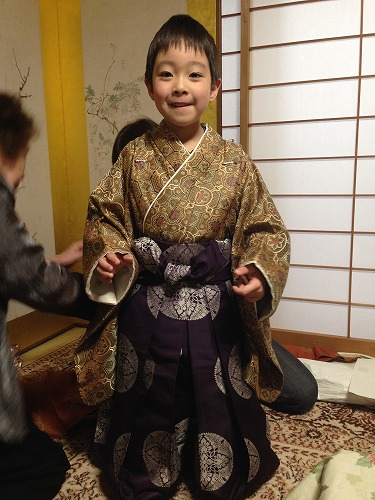 初めての袴★御幣使 衣装合わせ