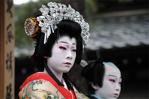 歌舞伎してます