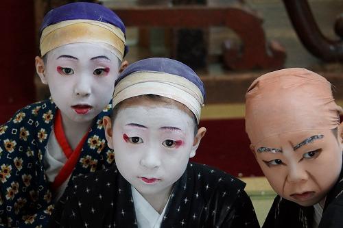 初化粧 三人衆