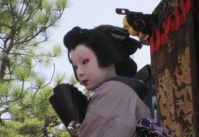 子ども歌舞伎の花