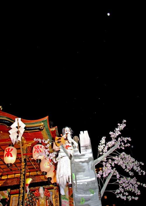 月夜の歌舞伎