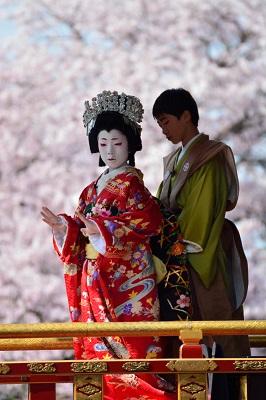 桜染めし舞台