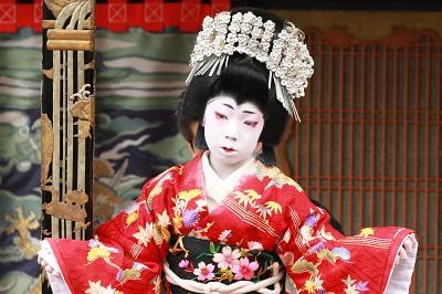 八重垣姫の舞