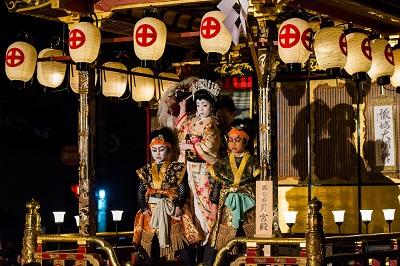 八重垣姫と討手